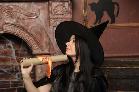 Halloween witch Stock Photo - 19000562