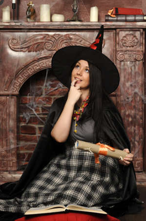 Halloween witch Stock Photo - 19000565