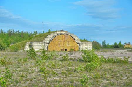 mig: abandoned aircraft hangar