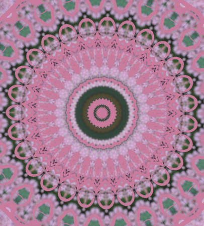 pink circular pattern Stock Photo - 16219700
