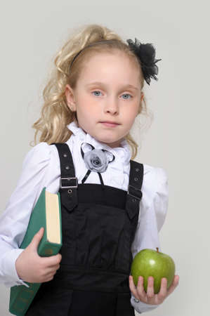 Little School Girl Stock Photo - 16194313
