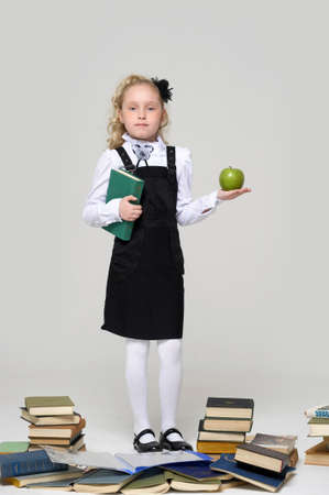 Little School Girl Stock Photo - 16194310