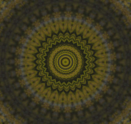 Abstract Golden Forms Pattern, coming from a fractal design  photo