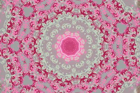 pink with gray circular pattern photo