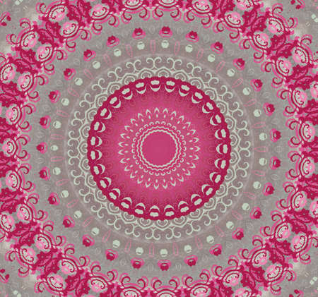 pink with gray circular pattern Stock Photo - 16408043