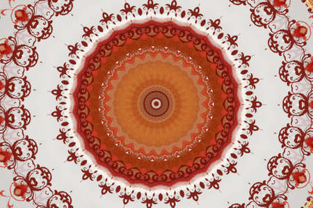 oriental ornament in warm colors Stock Photo - 16442893
