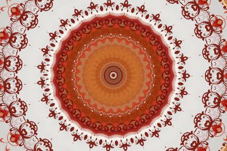 oriental ornament in warm colors Stock Photo - 16442893