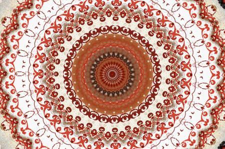 mhendi: oriental ornament in warm colors