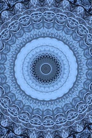 blue oriental ornament circular Stock Photo - 16408050