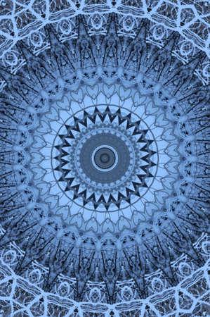 blue oriental ornament circular Stock Photo - 16408072