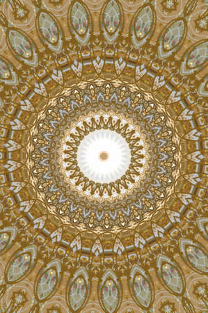 golden ornament retro photo