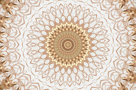 light beige brown ornament photo