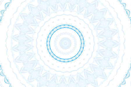 light blue circular pattern Stock Photo - 16572359