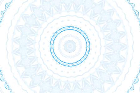 light blue circular pattern Stock Photo - 16572359