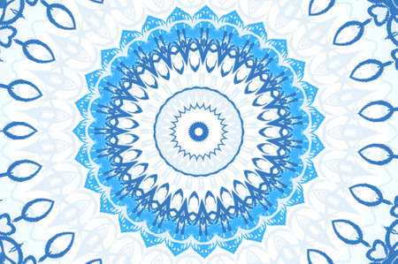 light blue circular pattern Stock Photo - 16563224