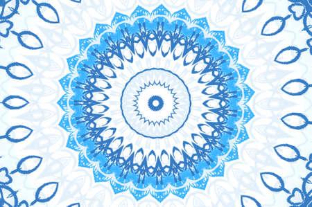 light blue circular pattern Stock Photo - 16563224
