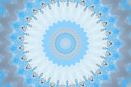 light blue circular pattern photo