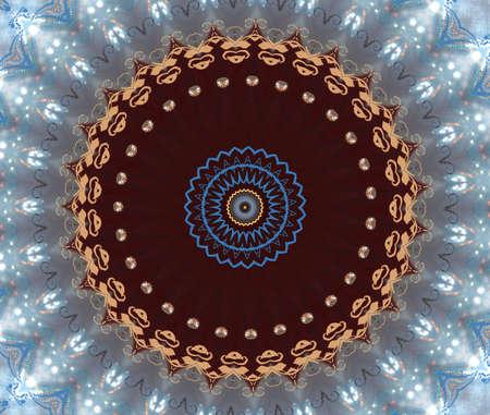 prayer rug: oriental ornament
