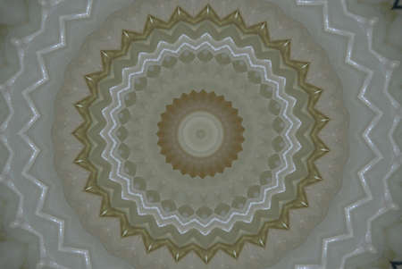 rug map: light brown ornament