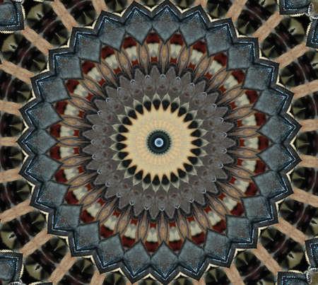 rug map: Oriental mosaic decoration