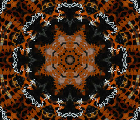 Oriental mosaic decoration Stock Photo - 16494643