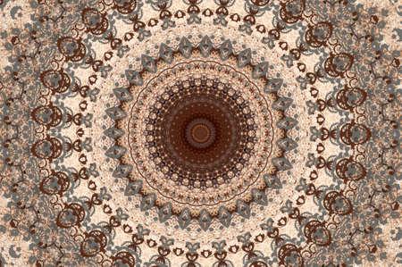 rug map: Oriental decoration  Stock Photo