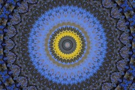 blue and yellow pattern Stock Photo - 16490946