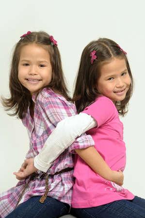 twin sisters Stock Photo - 17458307