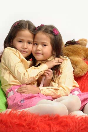 twin sisters Stock Photo - 17458306