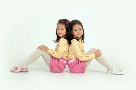 fraternal:  twin sisters