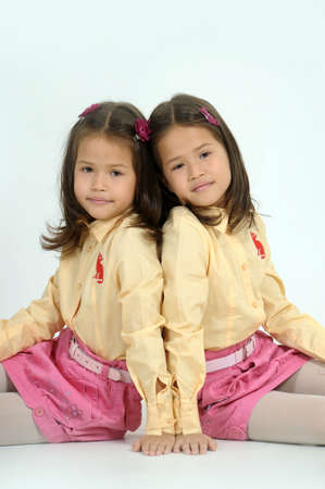 twin sisters Stock Photo - 17458305