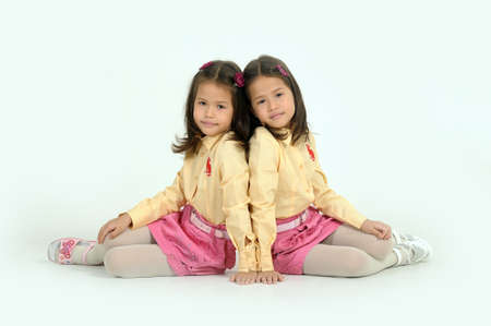 identical:  twin sisters