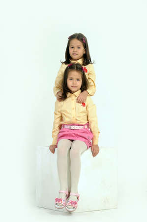 twin sisters Stock Photo - 17458248