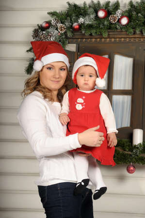 First Christmas for baby  photo