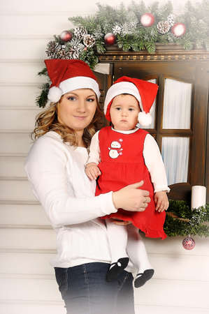 First Christmas for baby Stock Photo - 17260691