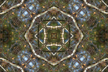 green blue circular pattern Stock Photo - 17272402