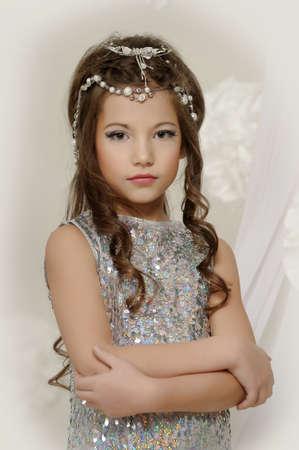 silver girl Stock Photo - 17532566
