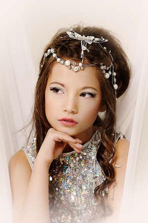 silver girl Stock Photo - 17532568