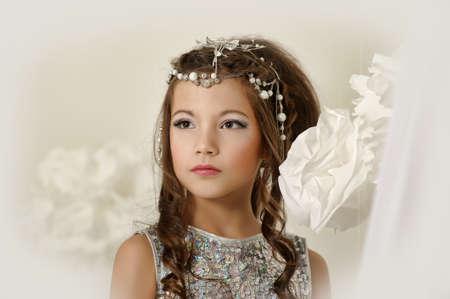 silver girl Stock Photo - 17532546