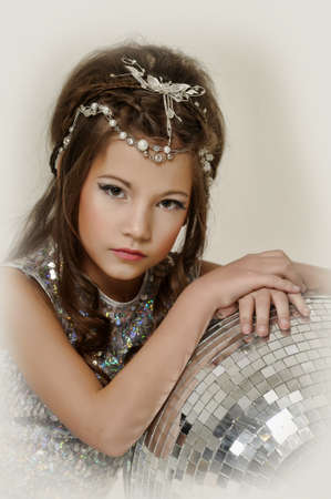 silver girl Stock Photo - 17532547