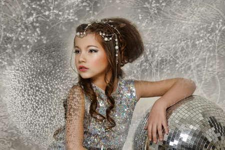 silver girl Stock Photo - 17532567