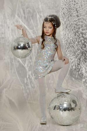 silver girl Stock Photo - 17532630