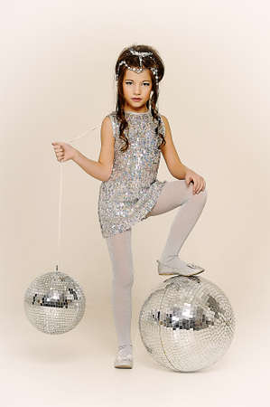 silver girl Stock Photo - 17532629