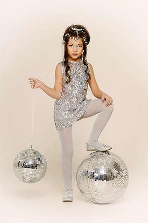 silver girl Stock Photo - 17532629