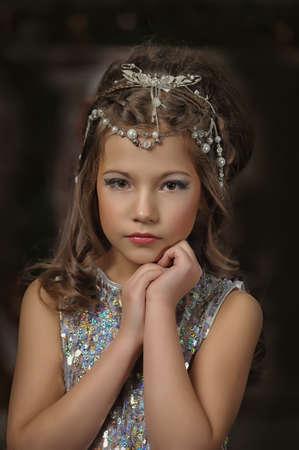 silver girl Stock Photo - 17532628