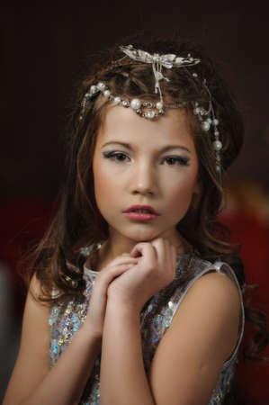 silver girl Stock Photo - 17532632