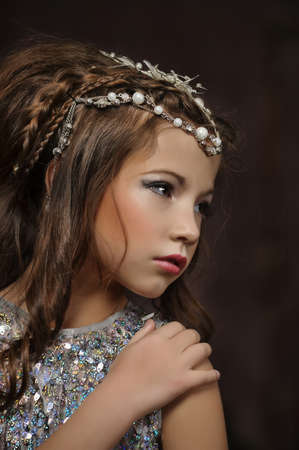 silver girl Stock Photo - 17532550