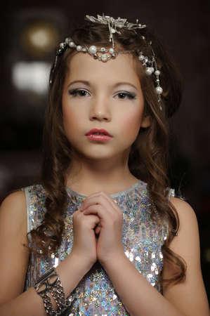 silver girl Stock Photo - 17532571