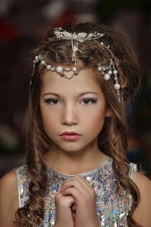 silver girl Stock Photo - 17647141