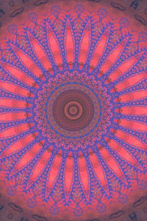 lilac pink circular pattern photo